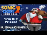 Sonic Dash 2 Sonic Boom Dr. Eggman Boss Battle Special Event!