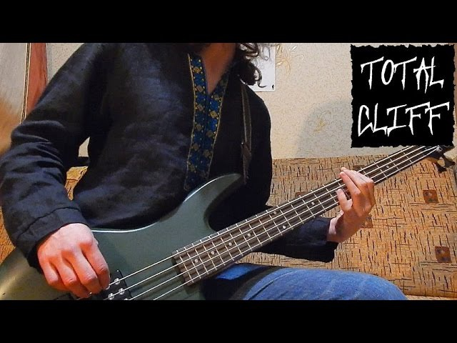 18 Metallica - To Live Is To Die bass cover solo (free bass tab on AndriyVasylenko.com)