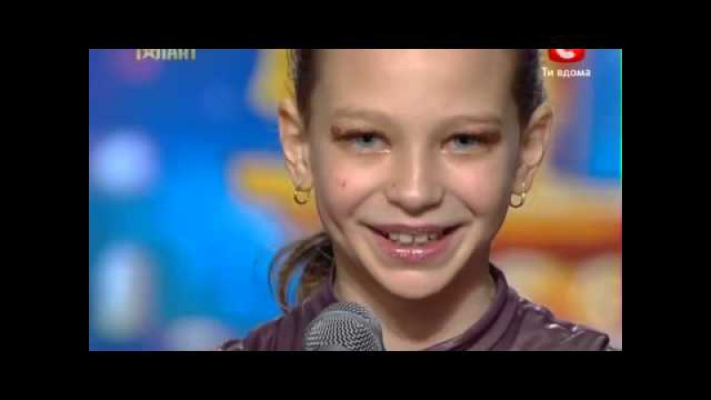 Гибкая Девочка Настя Шиманская на УМТ 4 17 03 2012 09 11 2012 2