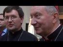 Привітання кардинала П'єтро Пароліна в Санктуарії Бога Отця Милосердного м Запоріжжя