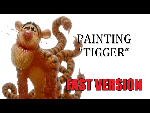 Speedpainting Tigger FAST VERSION