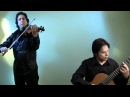 Galvez - Benavides Classical Violin Guitar Duo plays Oblivion by Astor Piazzolla
