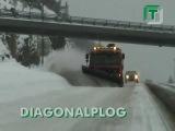 Как убирают снег в Норвегии