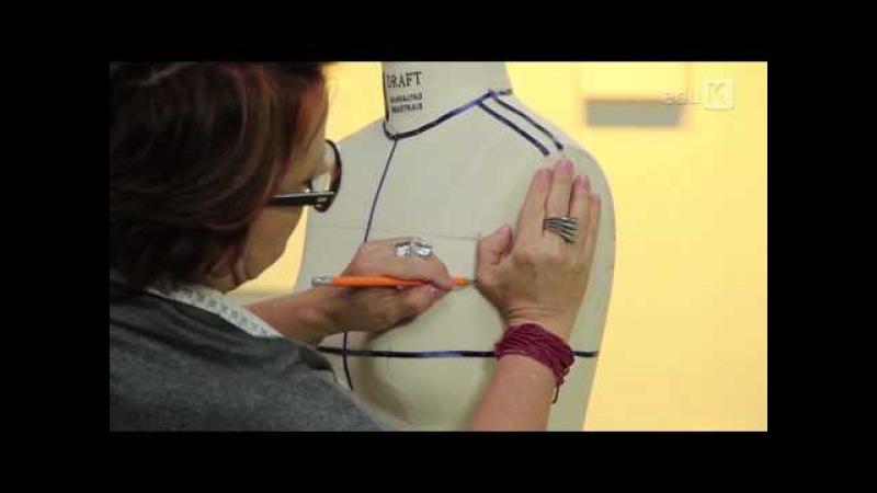Marcação de busto para moulage com Ana Lúcia Niepceron