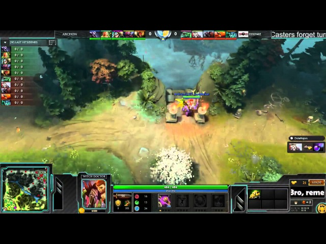 EHOME vs Archon, Shanghai Major, Main Event1