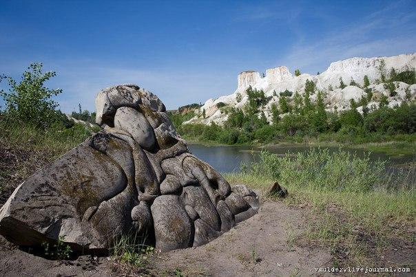 загадочные камни под воронежем