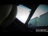 Flashing truckers while sucking a guy in his car Красивая проститутка снялась на шоссе и делает минет клиенту в машине Порно sex