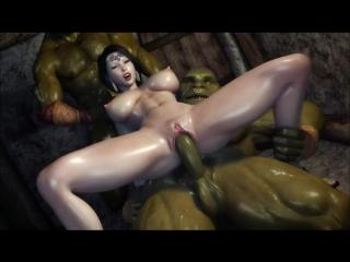 3 д мултик порно монстрами