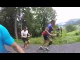 Интервальная тренировка. Давос (08.2016)