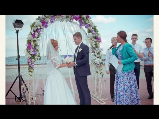 Ведущая - Виктория Рыжкова. Изысканные свадебные церемонии. #свадебнаяцеремония#выезднаярегистрация#церемониймейстер#свадьба2016