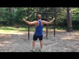 TRX петли, упр-ия на мышцы спины, с и.п. лицом к точке крепления.
