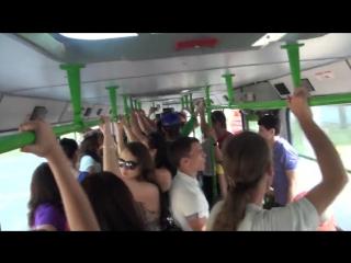 Флешмоб в автобусе Ростова-на-Дону. Берет за душу