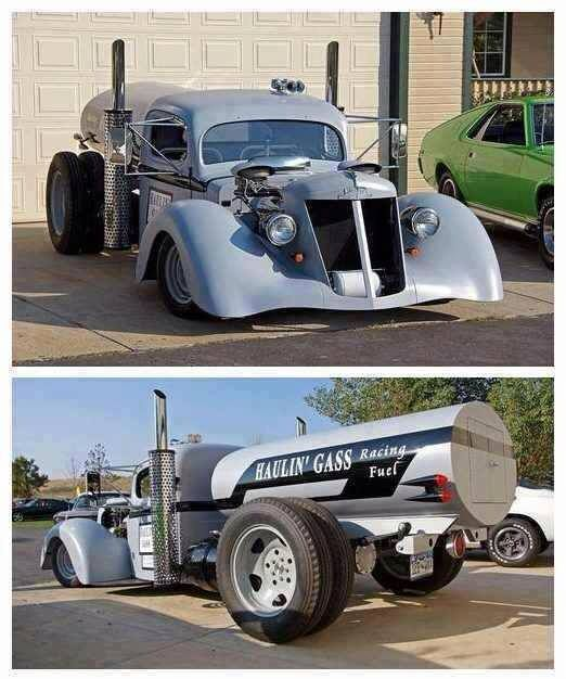 необычный грузовик