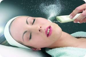 чистка кожи лица ультразвуком