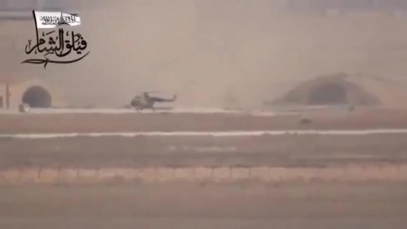 Повстанцы из ССА уничтожили из ПТУР-а русский блохолёт Ми -171Ш со свиньями на борту