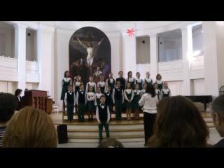 Отчетный концерт 13.12.2015. Средний хор ДХС