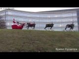 Роботы-олени Санта-Клауса от Бостон Дайнемикс / Happy Holidays From Boston Dynamics