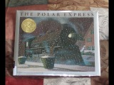 THE POLAR EXPRESS Children's Christmas Read Aloud Along Story Book by Chris Van Allsburg