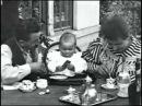 Кормление младенца , Завтрак младенца , 1895 г.