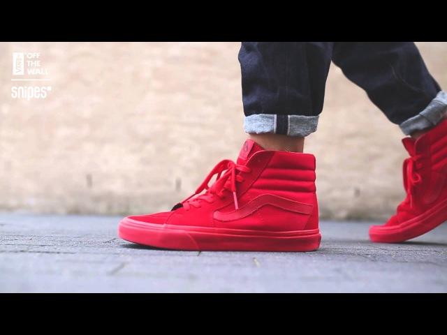 Vans Sk8-Hi All Red