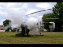 Kamov Ka-26 cold engine start, engine test and take off at Kislippó, Hungary