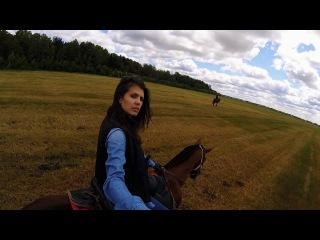Horse Riding (GoPro Hero4 Session) /  Экстремальная верховая езда. История одной любви
