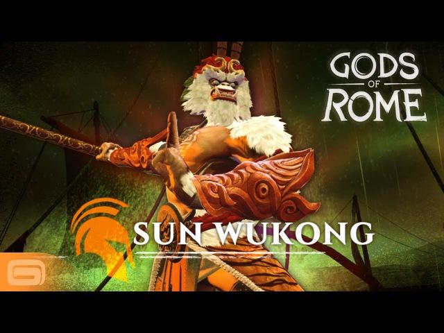 Gods of Rome - Sun Wukong, the Monkey King » Freewka.com - Смотреть онлайн в хорощем качестве