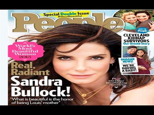 Как живут знаменитости. Сандра Баллок (Sandra Bullock) стала самой красивой женщиной