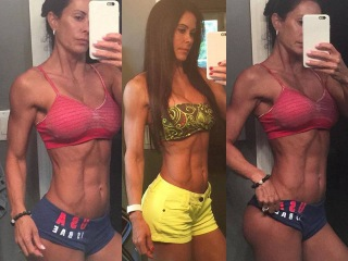 Catheline Radulic Fitness Model, Bikini Over 35 Who Look Sexy with Muscles