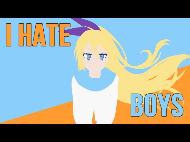 I Hate Boys (AMV Mix/2015/ аниме клип)