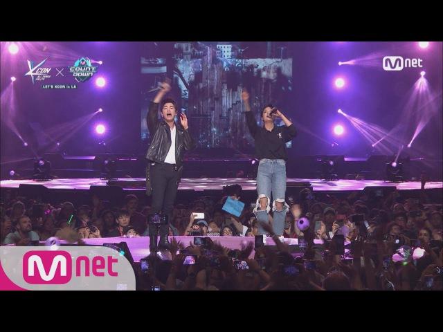 [KCON LA] Eric Nam&Amber-I JUST WANNA 160809 EP.486ㅣ KCON 2016 LA×M COUNTDOWN