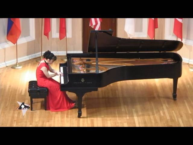 Ayane Shoda at the International Russian Piano Competition plays Tchaikovsky's Sleeping Beauty