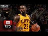 LeBron James Full Highlights vs Magic (2016.01.02) - 29 Pts, 5 Reb