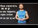 Как Сжигать Жир и Не Терять Мышцы Правильное Жиросжигание