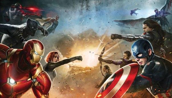 Первый мститель: Противостояние / Captain America: Civil War 2016 год