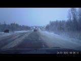 Опасная дорога на Малые Карелы