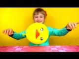 Simple Science Experiments - Balloons Увлекательный фокус с воздушными шарами