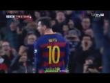 Барселона 2-1 Эспаньол. Дубль Месси [360p]