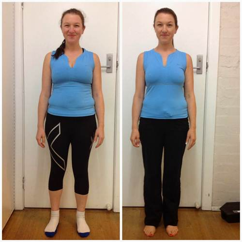 похудение фото до и после
