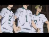 Аниме Волейбол!!Haikyuu!!2 сезон 19 серия русская озвучка OVERLOR
