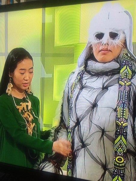 Зацените последний писк якутской моды - мужские волосатые очки