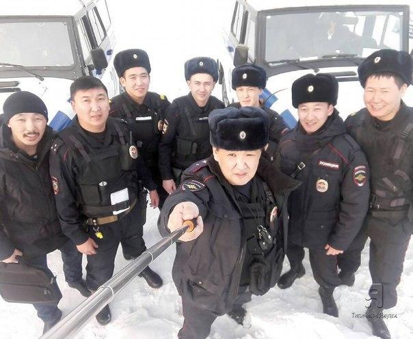 Полицейское селфи 👮👍