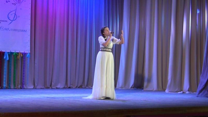 Екатерина Разуева-Не забывай.Лауреат 3 степени областного фестиваля-конкурса Таланты Смоленщины 2015