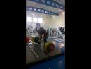 Становая тяга 240 кг на 3 раза