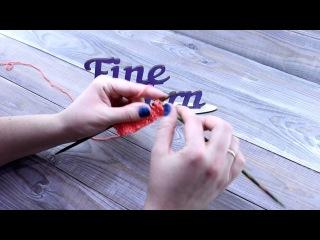 Видеоурок вязания от Fineyarn 6 Узор спицами