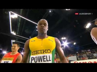 6.44 Asafa !!! 60m Men Heat 5 - IAAF World Indoor Championships 2016