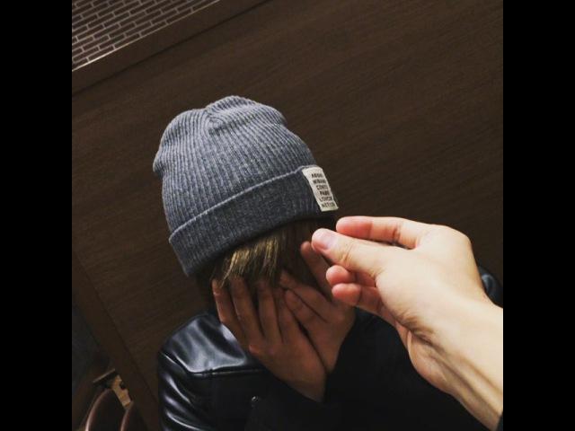 "@gongchanida on Instagram: ""체크메이트!! 술래잡기 끝🤗 형은 내 손안에 있수다"""