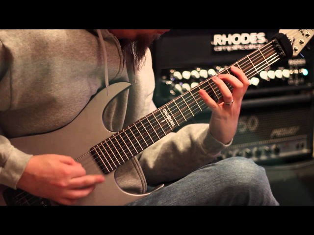 Keith Merrow- Rhodes Colossus H100 Amp Test- High Gain Metal