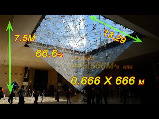 Лувр - как оккультный механизм воздействия на людей HD