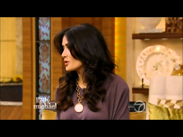 Salma Hayek - Live With Kelly and Michael 7 11 13